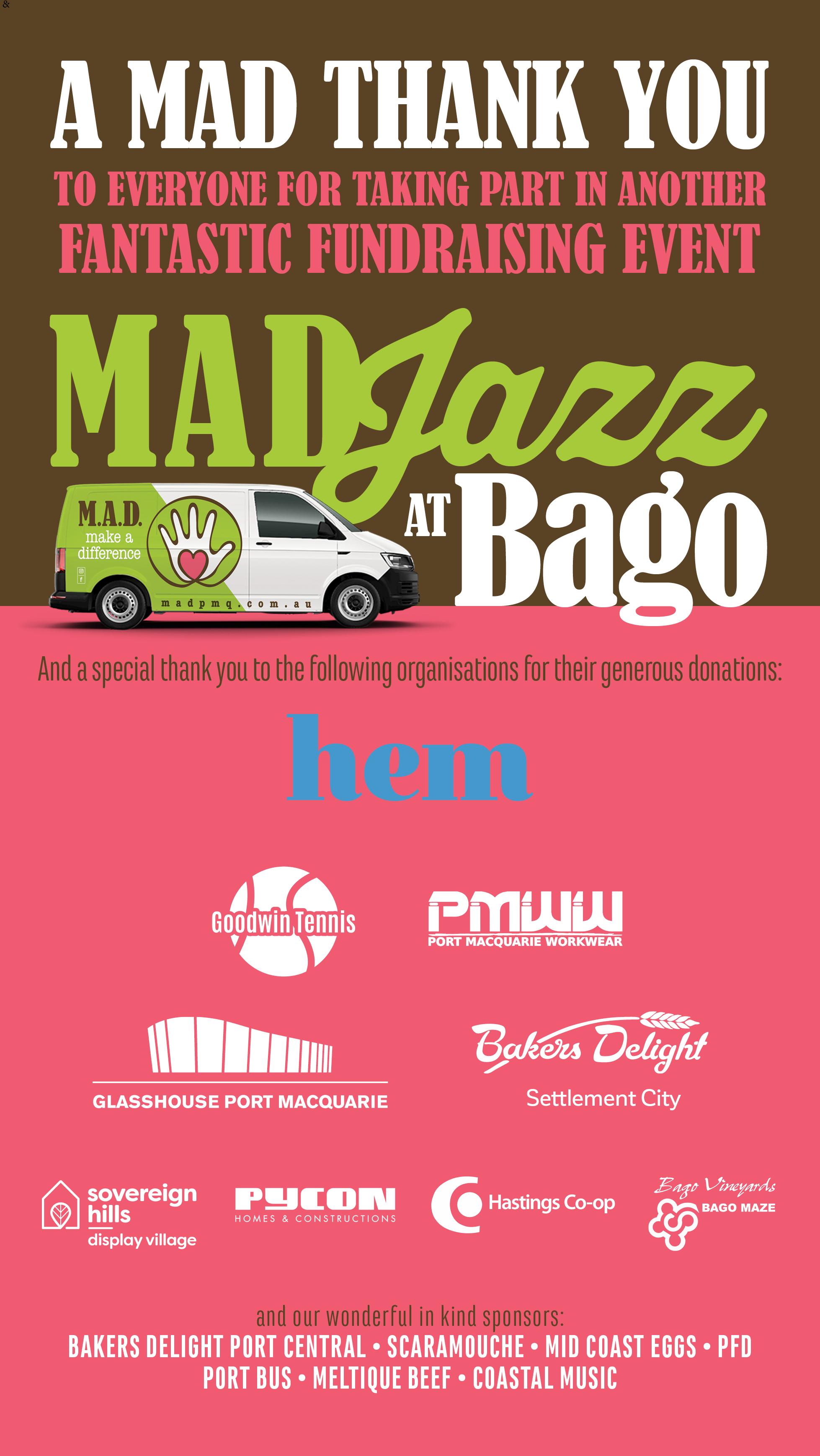 Make-a-Difference-Port-Macquarie-BagoJazz-SUCCESS-SPONSOR-THANKYOU-image