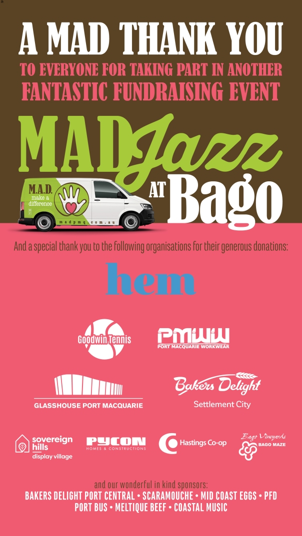 Make-a-Difference-Port-Macquarie-BagoJazz-SUCCESS-SPONSOR-THANKYOU-image